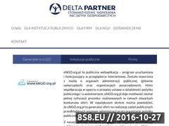 Miniaturka domeny deltapartner.org.pl