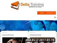 Miniaturka domeny www.deltatraining.pl