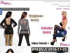 Miniaturka domeny deme.pl