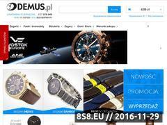 Miniaturka domeny www.demus-zegarki.pl