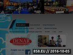 Miniaturka denar.edu.pl (Szkolenia zawodowe i szkolenia interpersonalne)