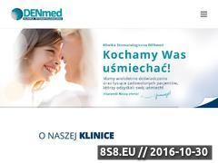 Miniaturka domeny www.denmed.bydgoszcz.pl