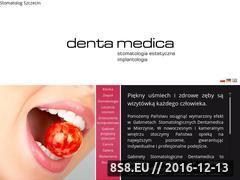 Miniaturka domeny dentamedica.com.pl