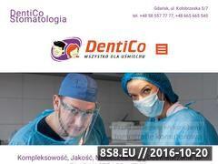 Miniaturka domeny www.dentico.eu