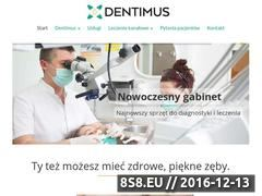 Miniaturka domeny www.dentimus.pl
