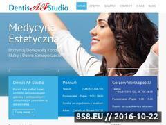 Miniaturka domeny www.dentisafstudio.pl