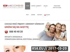 Miniaturka dentysta-gdansk.com (Gabinety Stomatologiczne w Gdańsku)