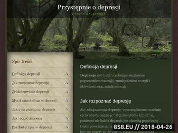 Zrzut strony Depresja - odpowiedzi na pytania