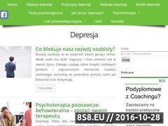 Miniaturka domeny www.depresjaza.pl