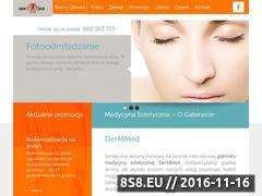 Miniaturka domeny dermmed.pl