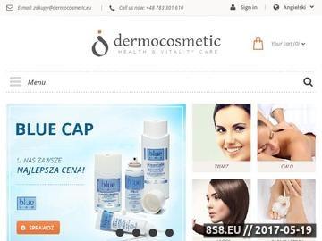 Zrzut strony Kosmetyki blue cap na łuszczycę