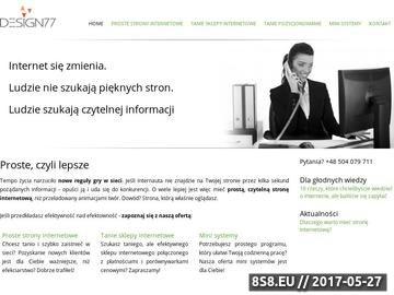 Zrzut strony Strony internetowe Łódź