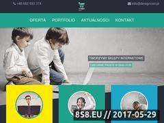 Miniaturka www.designcart.pl (Tworzenie sklepów internetowych)