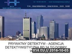 Miniaturka domeny www.detektyw-bd24.pl