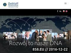 Miniaturka domeny www.dethloff.pl