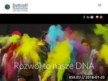 Zrzut strony Szkoły językowe Lublin