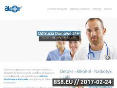 Miniaturka domeny www.detoks-warszawa.pl
