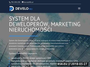 Zrzut strony System dla deweloperów