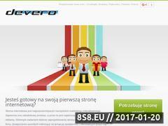 Miniaturka domeny devero.pl