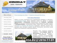 Miniaturka domeny www.deweloper-orida.pl