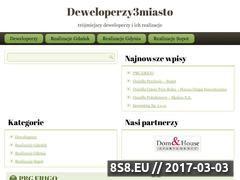 Miniaturka domeny www.deweloperzy3miasto.pl