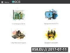 Miniaturka dgcs.pl (Oprogramowanie dla firm i biur rachunkowych)