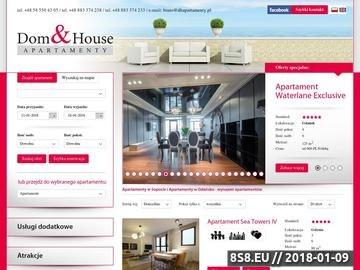 Zrzut strony DH Apartamenty