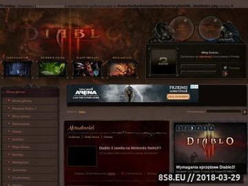 Zrzut strony Portal Diablo 3