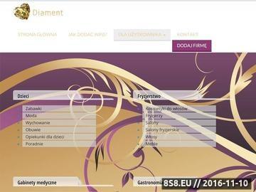 Zrzut strony Portal dla kobiet