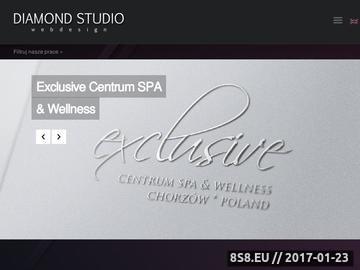 Zrzut strony Diamond Studio Webdesign - projektowanie stron www