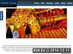 Miniaturka domeny www.diapol-catering.pl