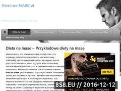 Miniaturka domeny dieta-na-mase.pl