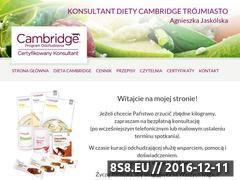 Miniaturka domeny www.dietacambridge-polska.pl