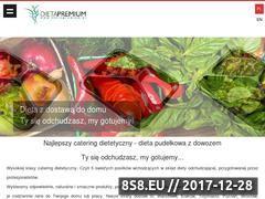 Miniaturka dietapremium.pl (Dieta Premium - dobry catering dietetyczny)