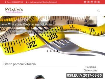 Zrzut strony Dietetyk dla Ciebie-Poradnia Dietetyczna-Vitalinia