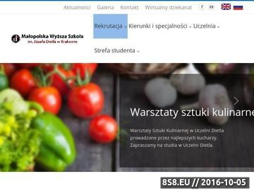 Zrzut strony MWSZ Kraków