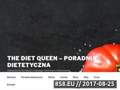 Miniaturka domeny dietqueen.pl