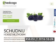 Miniaturka domeny www.dietymedicago.pl