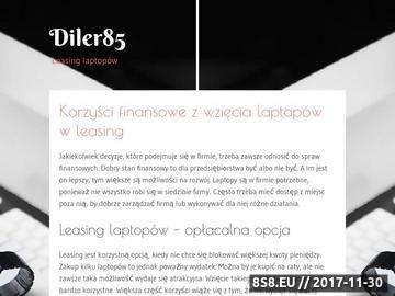 Zrzut strony Diler85.pl