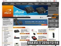 Miniaturka domeny www.dipol.com.pl