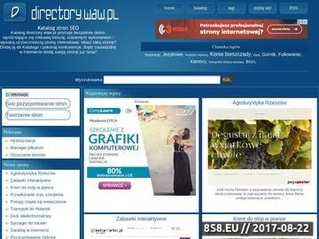 Zrzut strony Katalog Licytacja Linków
