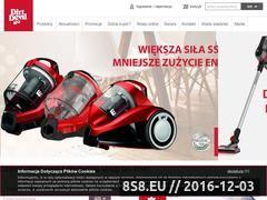 Miniaturka domeny dirt-devil.pl
