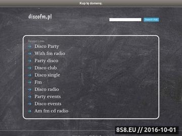 Zrzut strony Radio Internetowe DiscoFM - Najlepsza Muzyka w Sieci