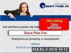 Miniaturka discopolofan.pl (Darmowe Mp3 Disco Polo)