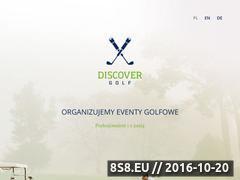 Miniaturka domeny www.discovergolf.pl