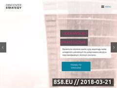 Miniaturka domeny discoverstrategy.pl