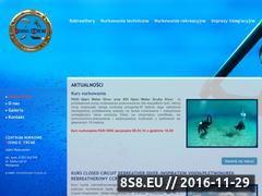 Miniaturka domeny www.divingextreme.pl