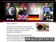 Miniaturka dj-na-wesele-pomorskie.pl (Dj i Wodzirejka oraz Saksofonista na wesele)