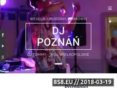 Miniaturka dj-poznan.com (DJ na wesele i imprezy okolicznościowe)
