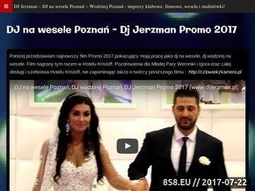 Zrzut strony Dj na wesele